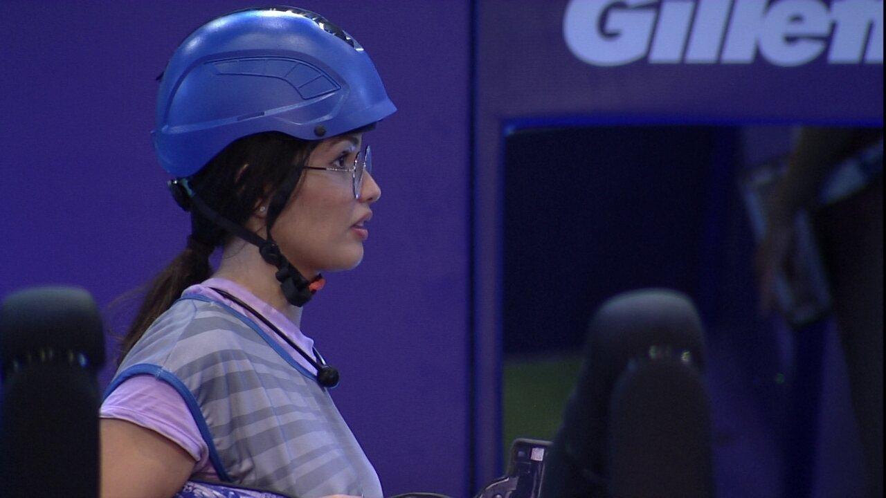 Juliette para Sarah sobre formação de duplas na Prova do Líder: 'Sempre fico por último'