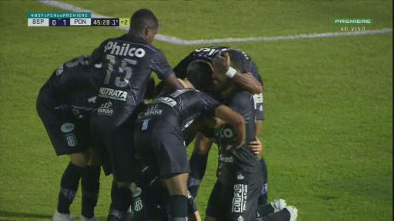 Veja os melhores momentos de Botafogo-SP 0 x 1 Ponte Preta, pela 4ª rodada do Paulistão