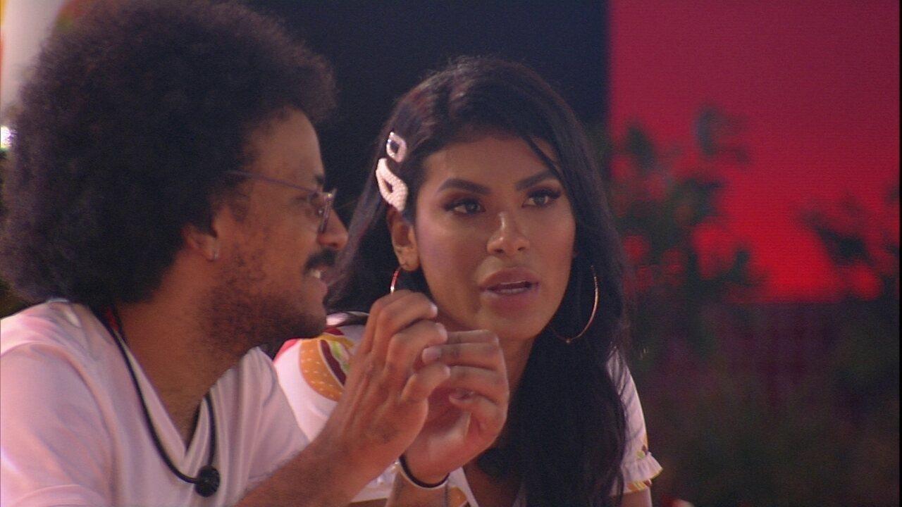 Pocah fala sobre desavença com Gilberto no BBB21
