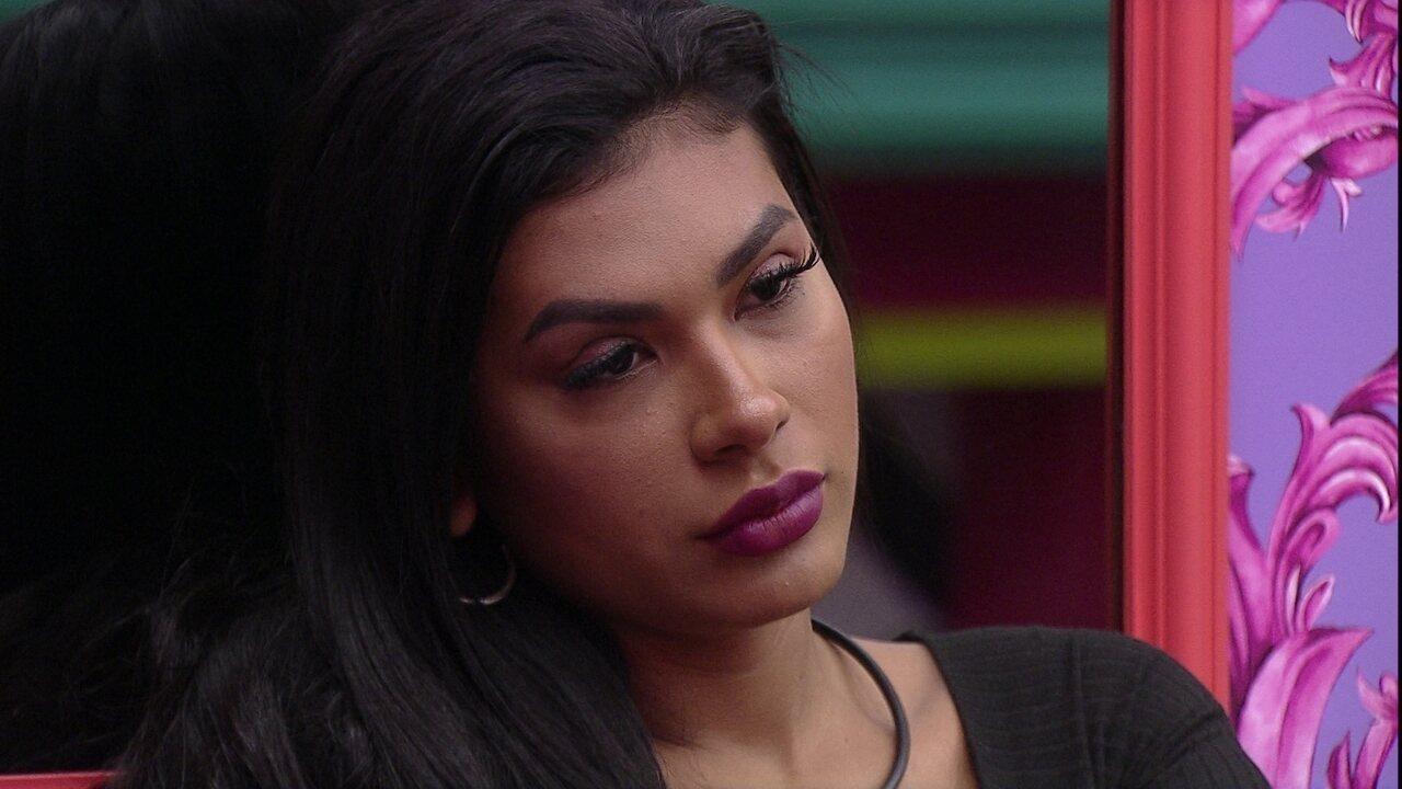 Pocah dispara para Juliette no BBB21: 'Seu voto me botou no Paredão'