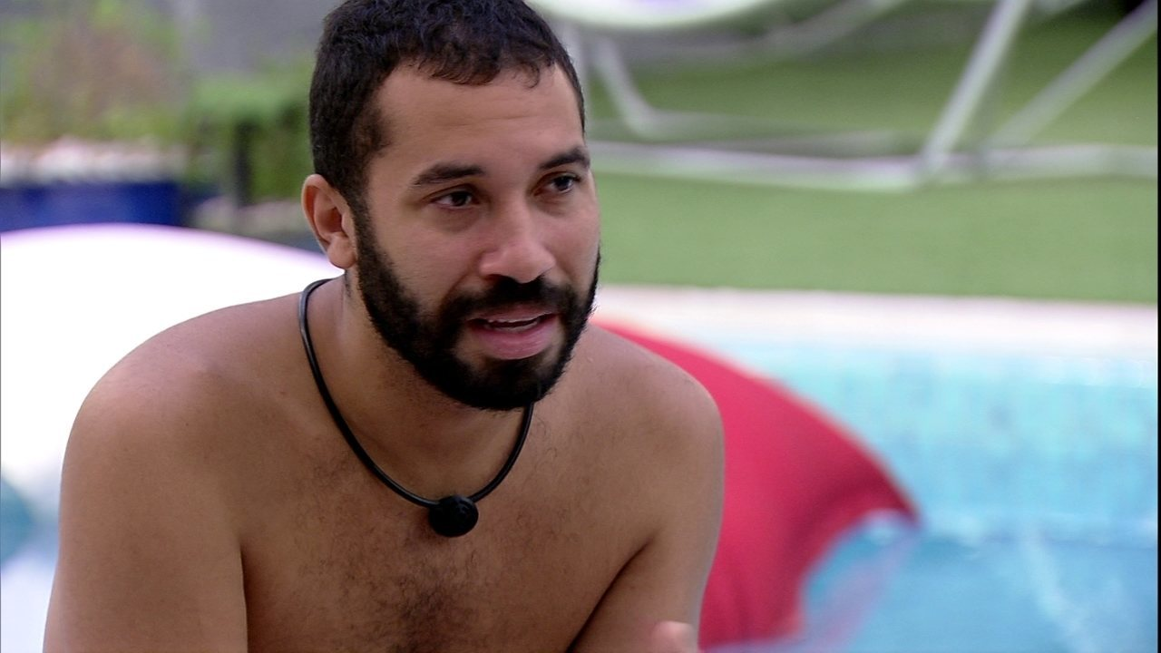 Gilberto confessa em conversa com Projota no BBB21: 'Não tenho mais medo'