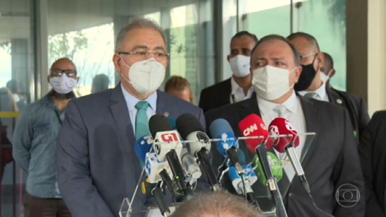 Queiroga diz que foi convocado para dar continuidade ao trabalho de Pazuello