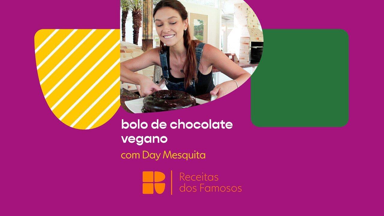 Day Mesquita ensina a fazer bolo de chocolate vegano
