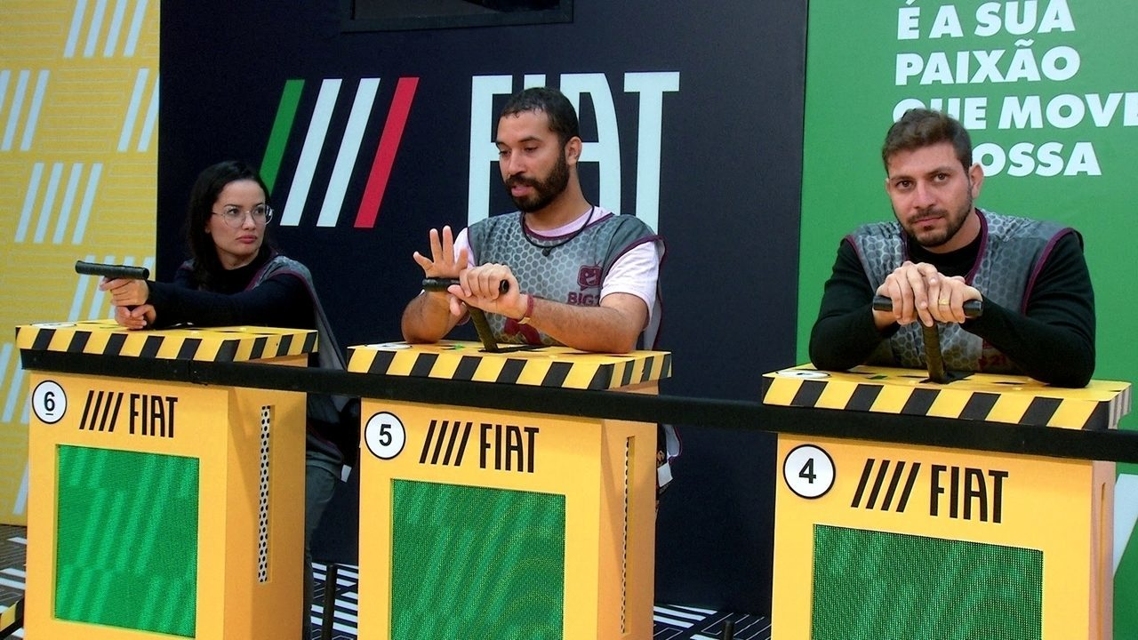Durante Prova do Líder Fiat do BBB21, Gilberto revela quem levaria para o Vip
