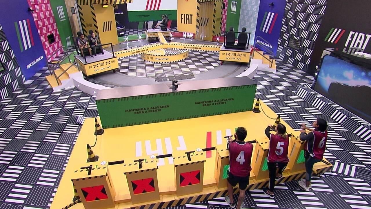 Caio e Rodolffo são eliminados da Prova do Líder Fiat do BBB21