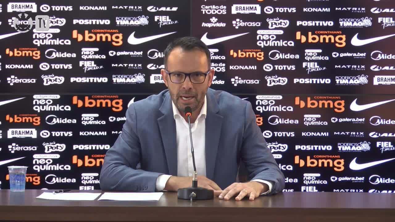 Wesley Melo, do Corinthians, apresenta acordo com a Falconi Consultoria