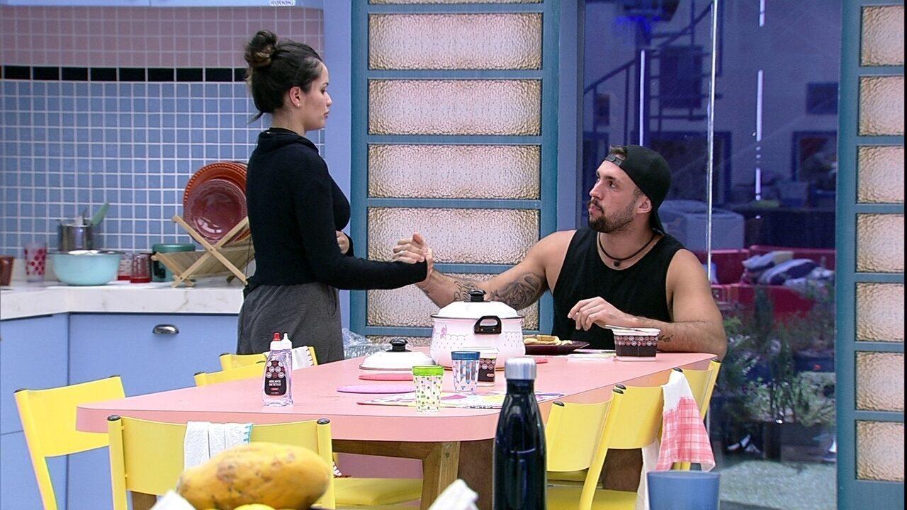 Juliette diz a brother sobre Prova do Líder do BBB21: 'Estou tão triste'