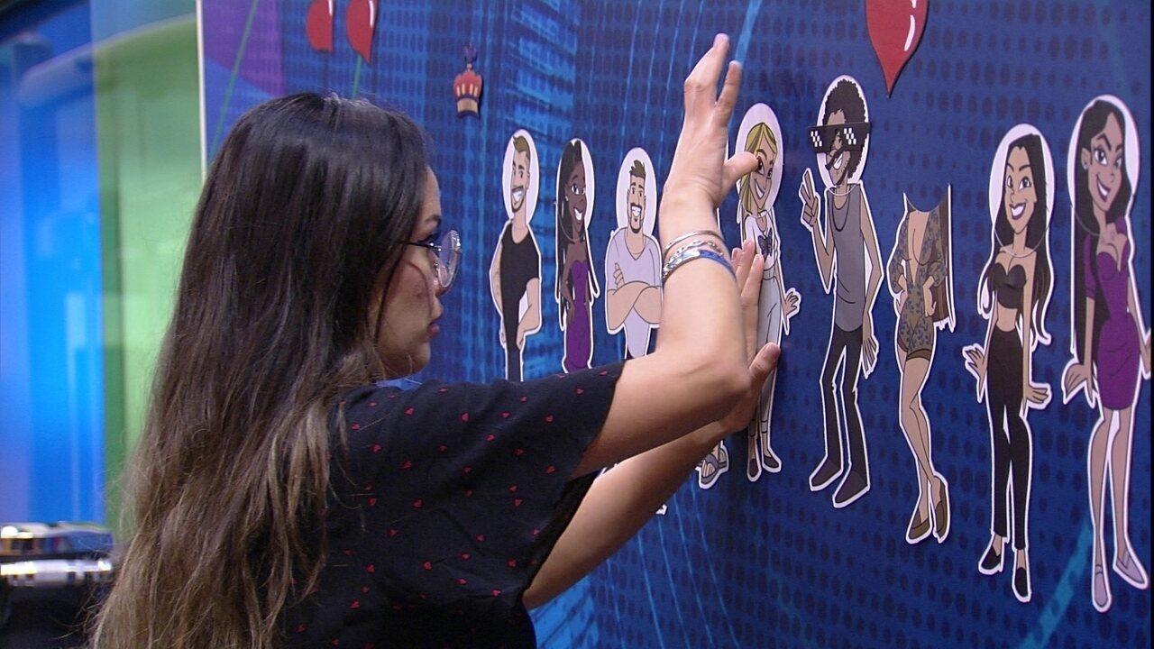 Juliette fala sozinha sobre opções de voto para o Paredão: 'Eu vou me queimar com ele´