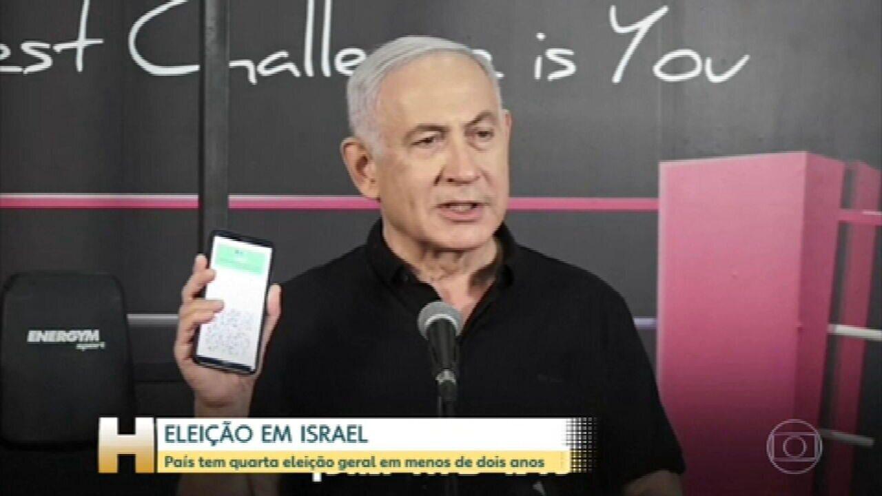 Eleições Gerais em Israel são termômetro para Netanyahu