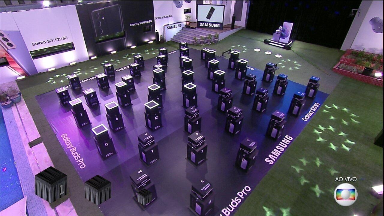 Tiago Leifert explica Prova e Volta Samsung Galaxy S21