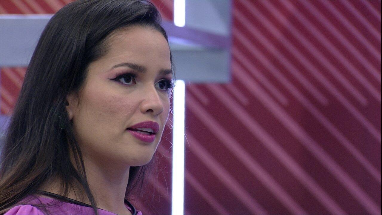 Juliette justifica contragolpe: 'Estou muito mais magoada com ele do que com você'