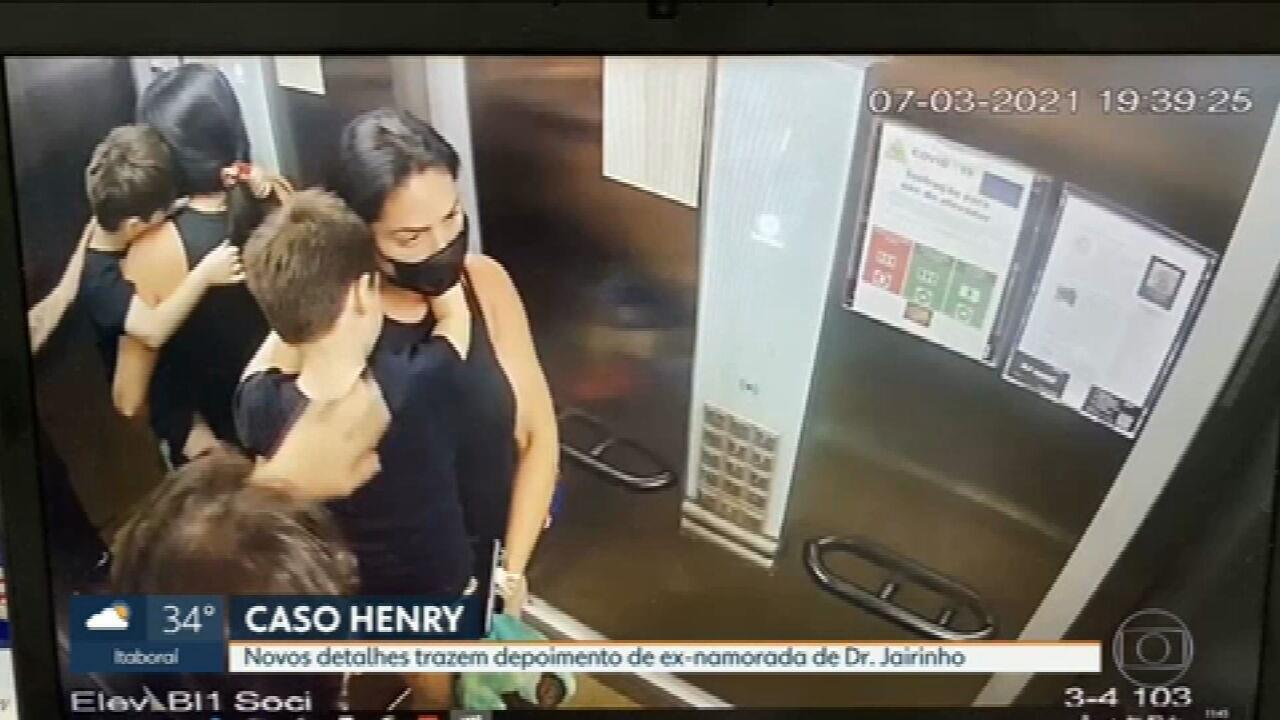 Caso Henry: ex-namorada de Dr. Jairinho cita agressões à filha