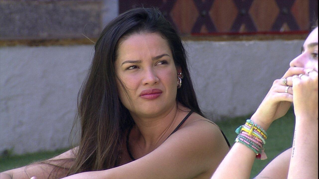 Viih Tube e Juliette conversam sobre comportamento de brother e sister