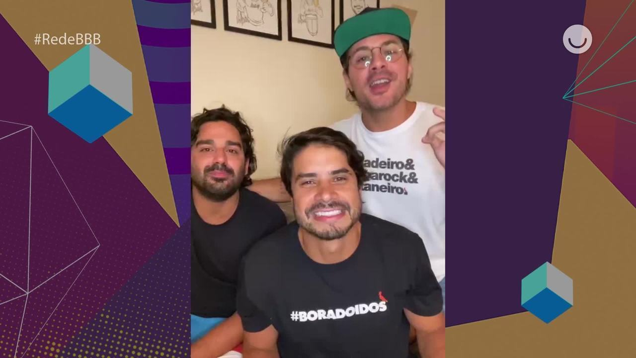 Integrantes do Atitude 67 comentam sucesso do hit 'Vou Revelar' no BBB21