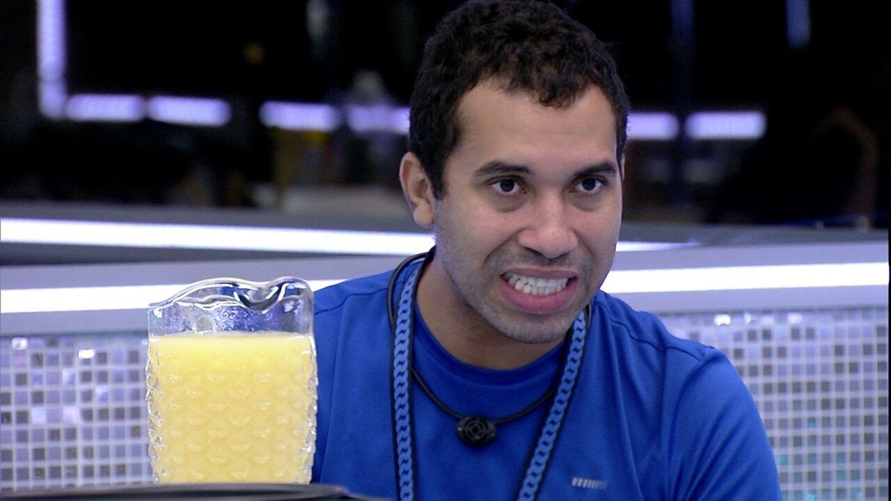Gilberto relembra Sarah e comenta: 'Quinta-feira foi o pior dia da minha vida'