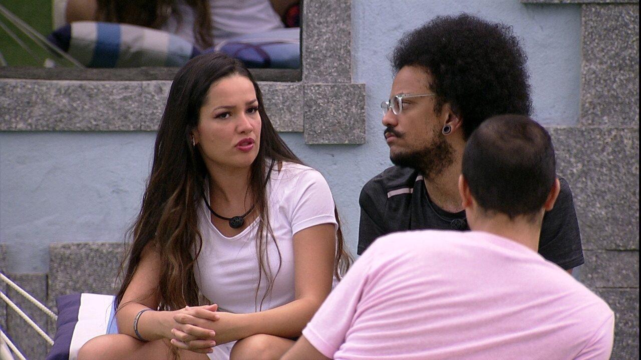 Gilberto dispara para Juliette: 'É muito estranho o povo te colocar no Paredão e abraçar´