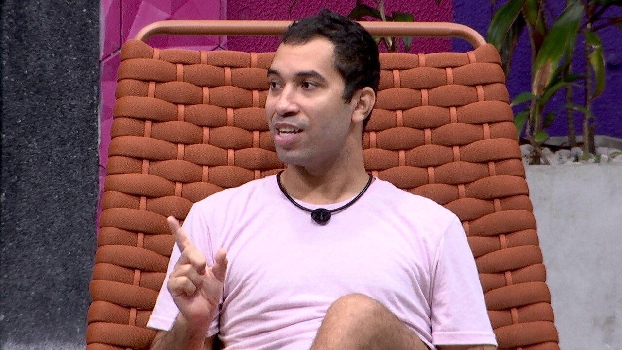 Gilberto brinca que até aceita rejeição, mas quer 'discurso bonito': 'Bem longo'