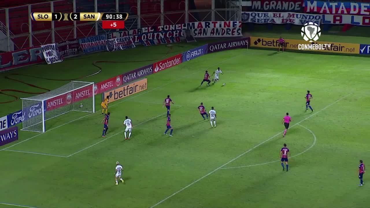 Melhores momentos: San Lorenzo 1 x 3 Santos, pela pré-Libertadores