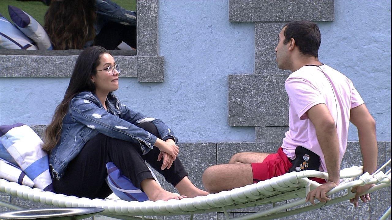 Juliette sobre relação com brothers: 'Eu teria muito mais razão para me afastar'