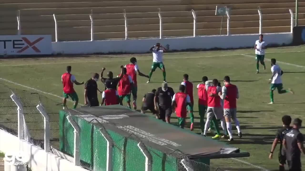 O gol de Picos 0 x 1 Boavista pela 2ª fase da Copa do Brasil 2021