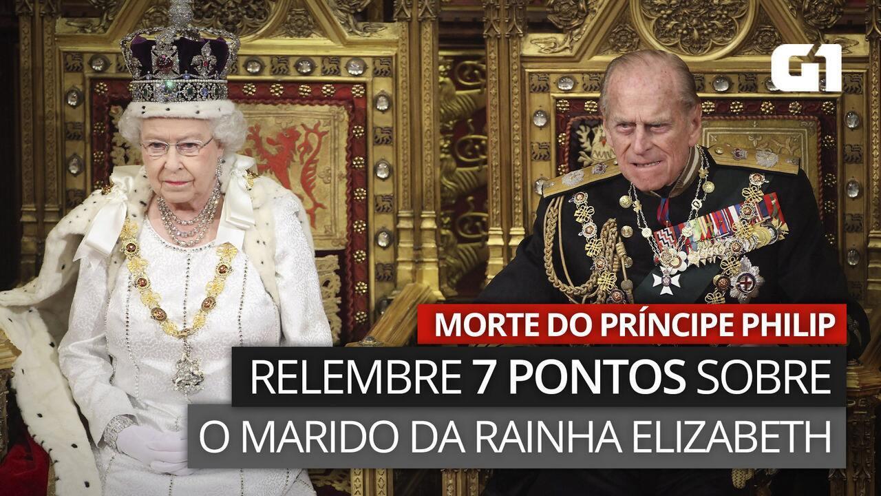 Príncipe Philip morre aos 99 anos: relembre 7 pontos sobre o marido da Rainha Elizabeth II