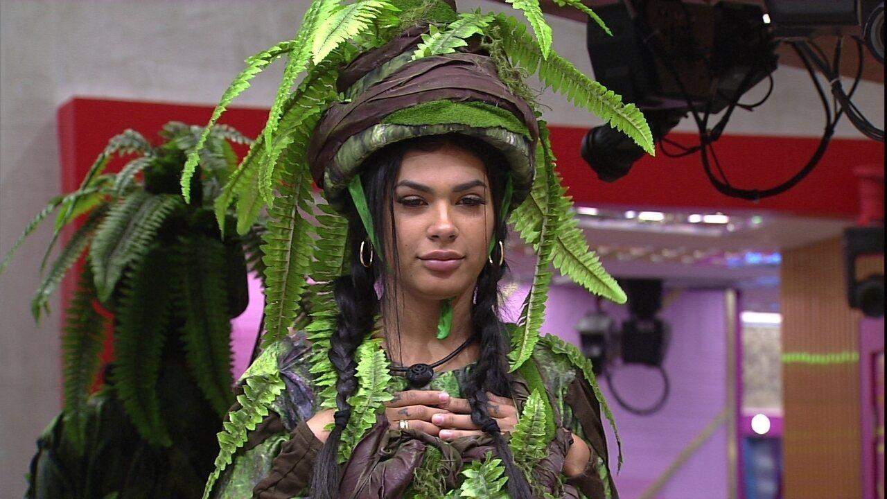 Pocah declara para Arthur sobre sua postura no BBB21: 'Eu sou uma planta'