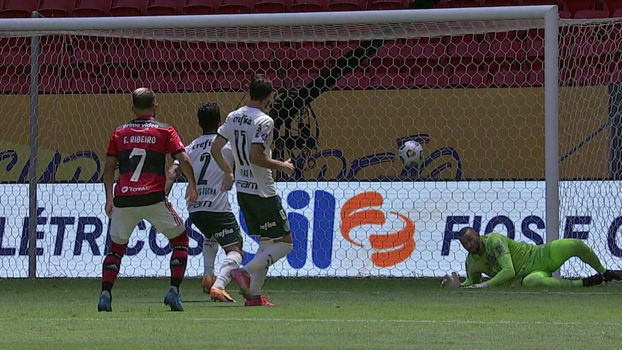 Os melhores momentos de Flamengo 2 (6) x (5) 2 Palmeiras, pela Supercopa do Brasil 2021
