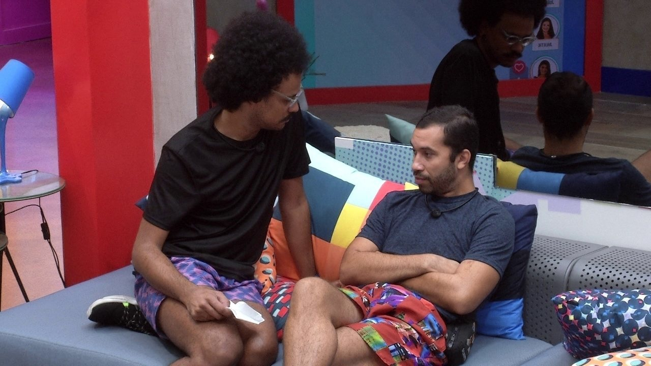 Gilberto e João Luiz conversam sobre Castigo do Monstro: 'Você vai ter que escolher´