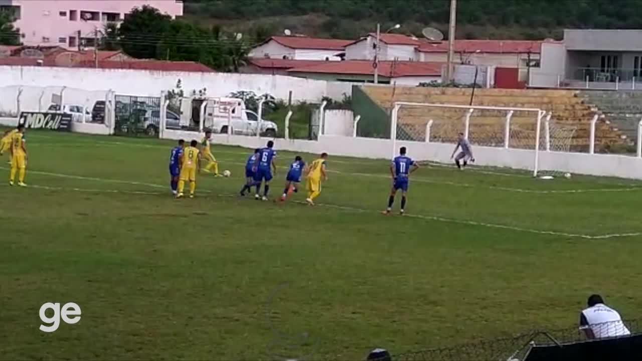 GOL DO PICOS! Raphael Freitas bate pênalti e põe Zangão de novo à frente do Parnahyba