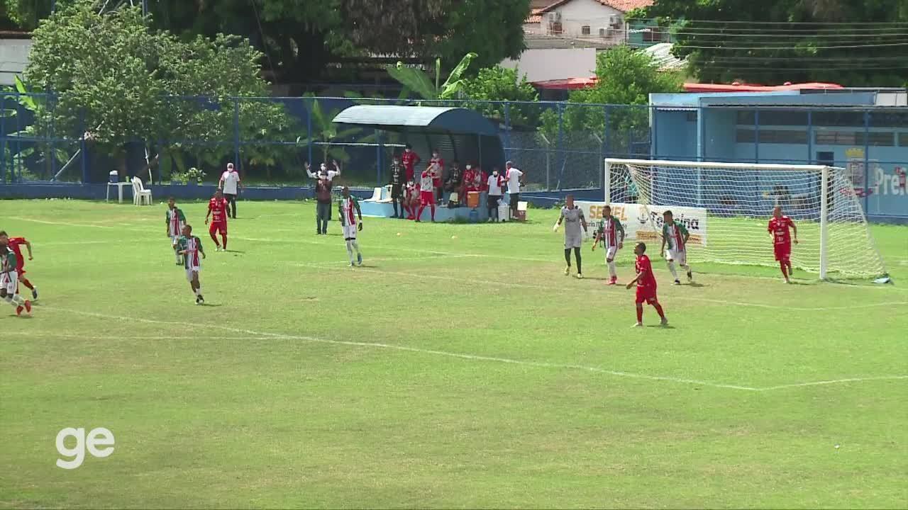 Os melhores momentos de Fluminense-PI 0 x 0 4 de Julho pela 8ª rodada do estadual