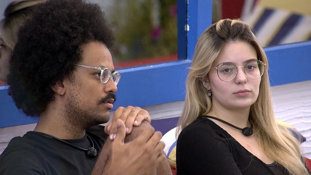 Viih Tube desabafa com João Luiz sobre sister: 'Estou cansada de ficar chateada com ela'