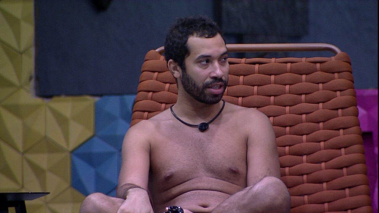 Gil declara a Camilla de Lucas: 'Desconfiei de muita gente aqui dentro, mas nunca de você'