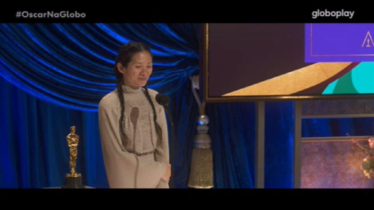 Oscar 2021: Chlóe Zhao vence o prêmio de Melhor Direção