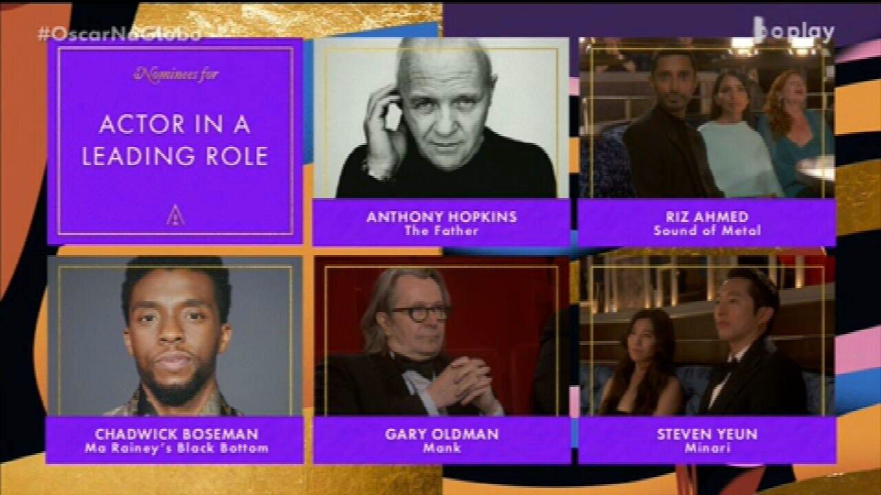 Oscar 2021: Anthony Hopkins vence o prêmio de Melhor Ator