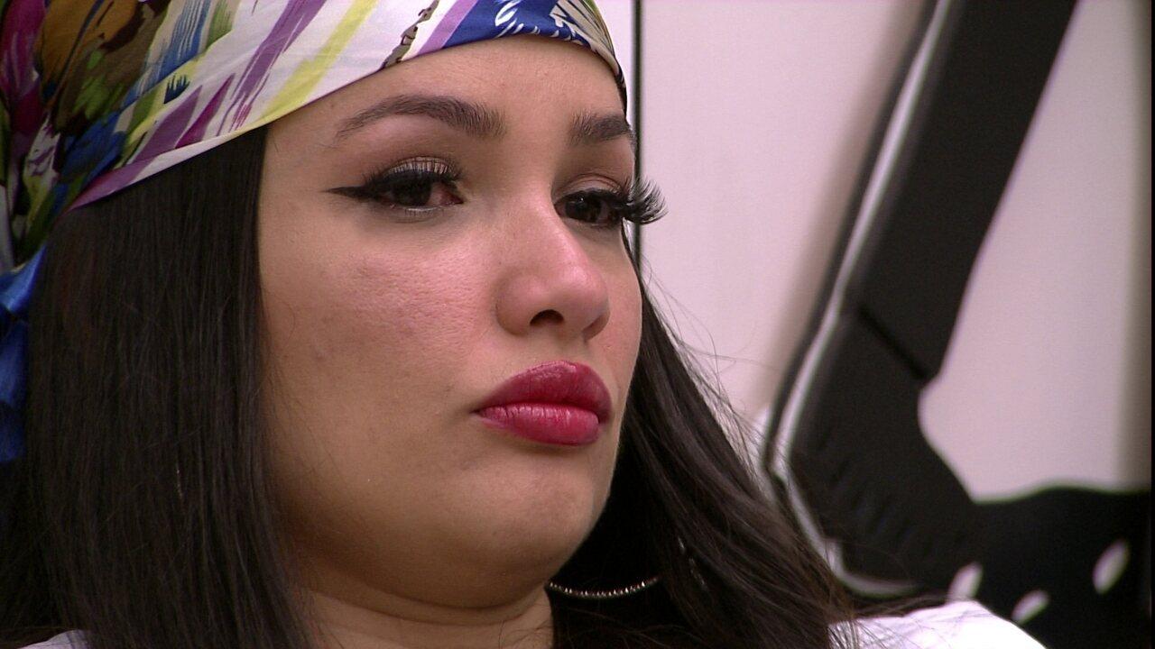 Juliette chora com derrotas nas provas do BBB21 e fala sobre a mãe: 'Queria dar orgulho'