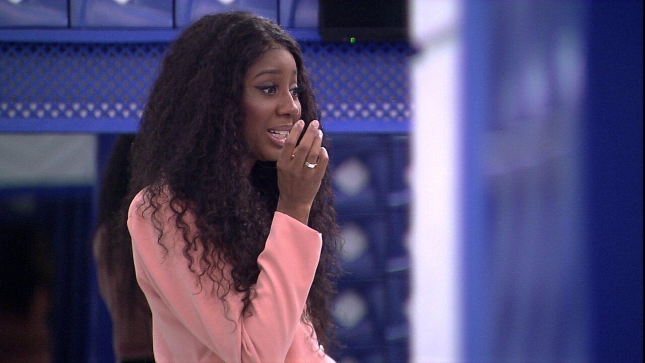 Camilla de Lucas revela sobre ser finalista do BBB21: 'Estou em choque. Estou chocada'