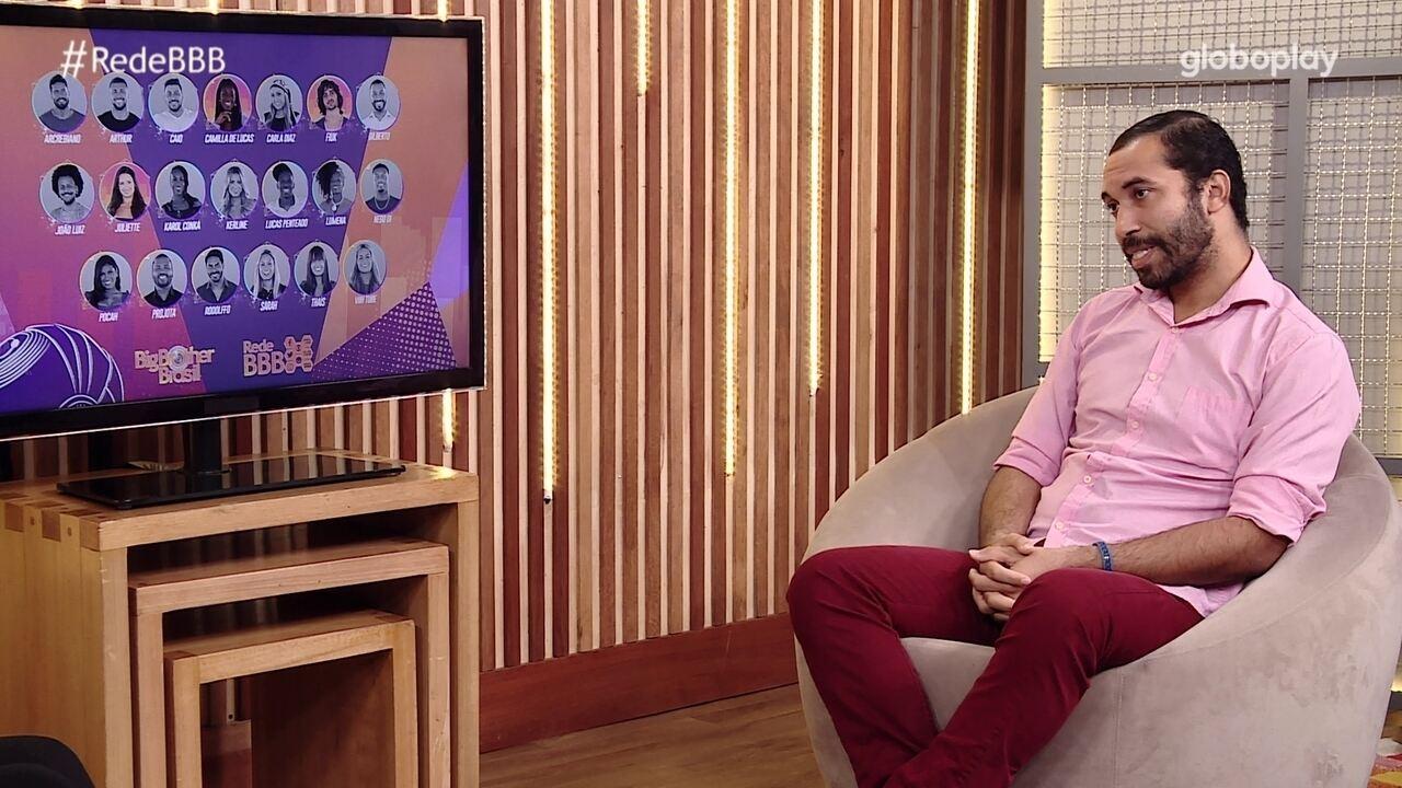 Bate-Papo BBB: Gilberto revela torcida na Final do BBB21: 'Fiuk tem meu coração'