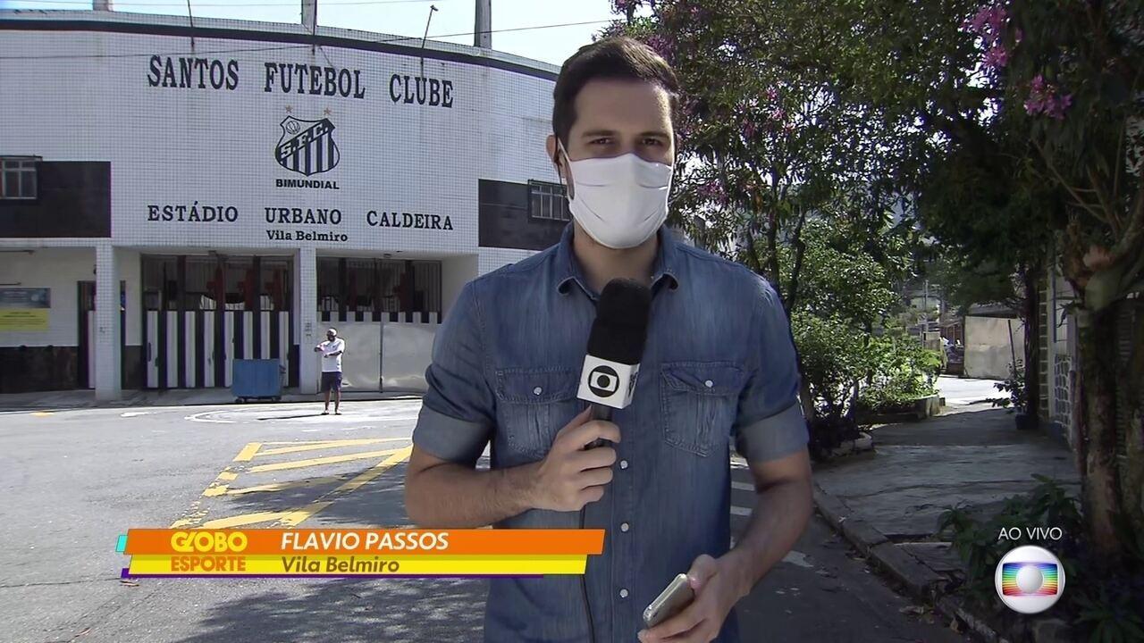 As últimas notícias do Santos, que encara o The Strongest pela Libertadores