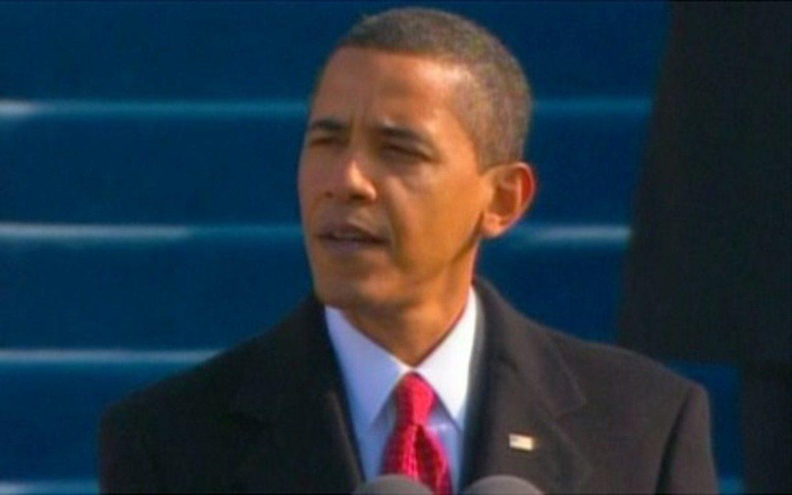 Obama discursa já como presidente dos EUA