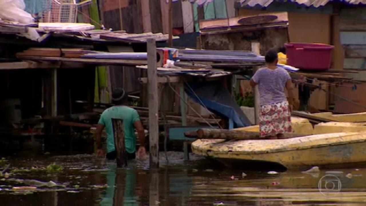 Cheia dos rios atinge quase todos os municípios do AM