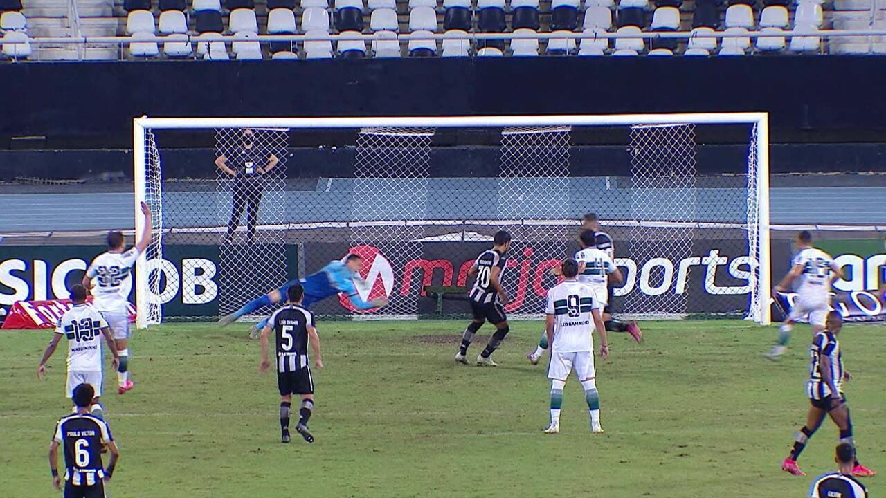 Melhores momentos de Botafogo 2 x 0 Coritiba pela Série B