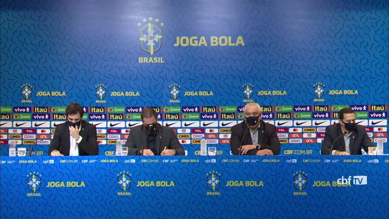 André Jardine e Branco detalham processo de escolha da seleção olímpica e explicam divergência sobre Pedro com o Flamengo