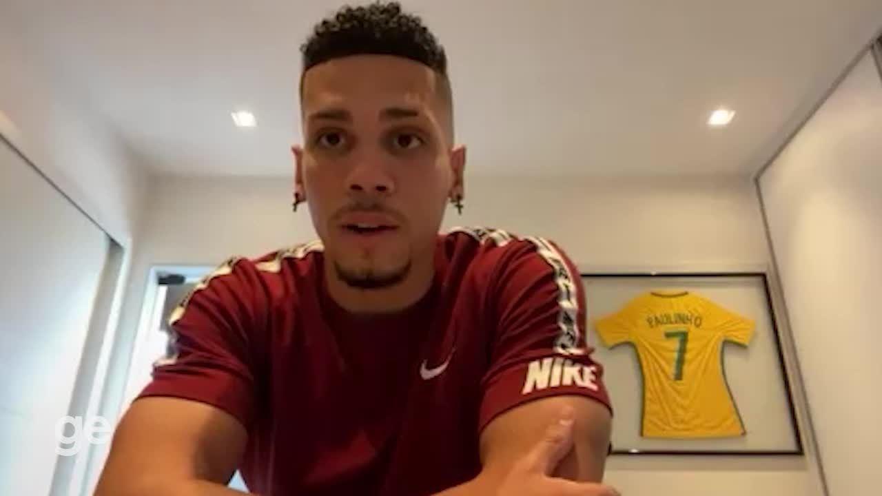 """Paulinho fala sobre recuperação de lesão: """"Estou pronto para as Olimpíadas"""""""
