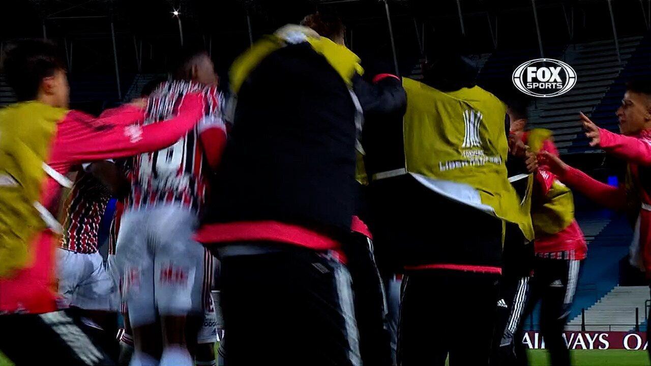 Melhores momentos: Racing 1 x 3 São Paulo, pela Libertadores