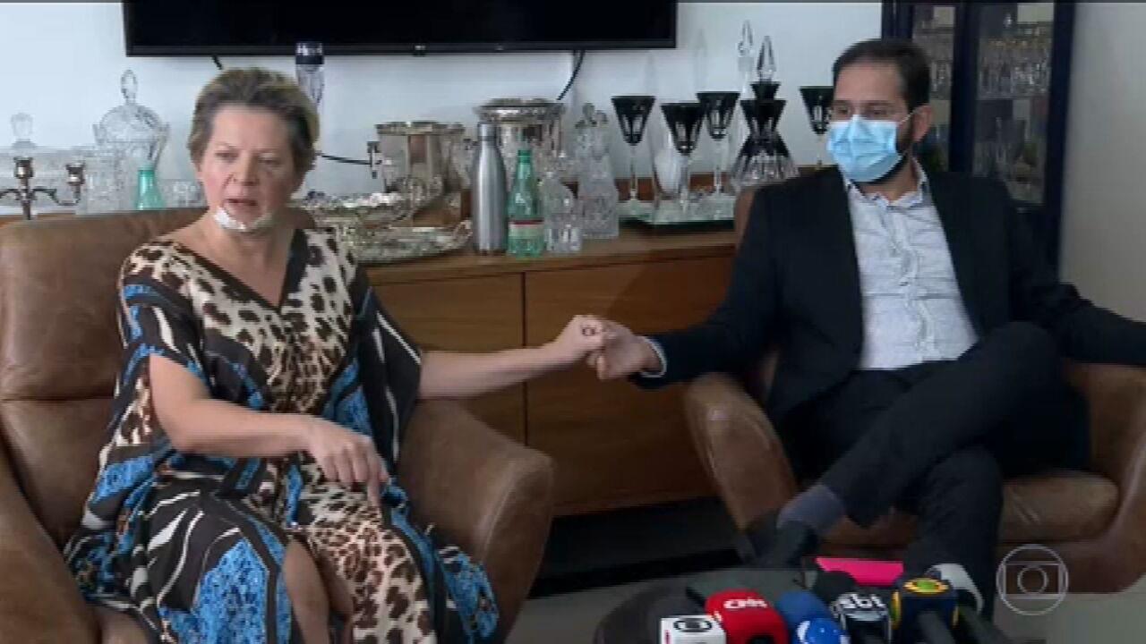 Marido de Joice Hasselmann nega agressão: 'Jamais faria isso'