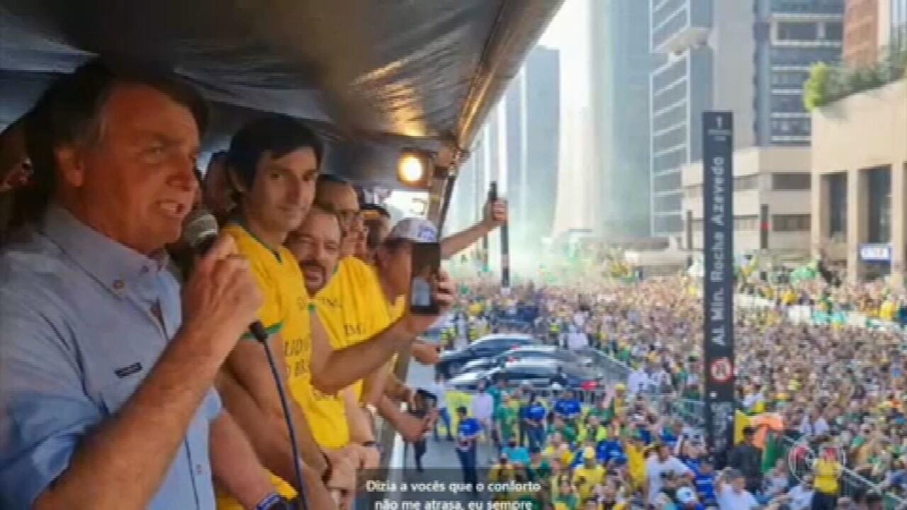 Bolsonaro discursa como se os apoiadores de atos antidemocráticos fossem o  povo brasileiro | Jornal Nacional | G1