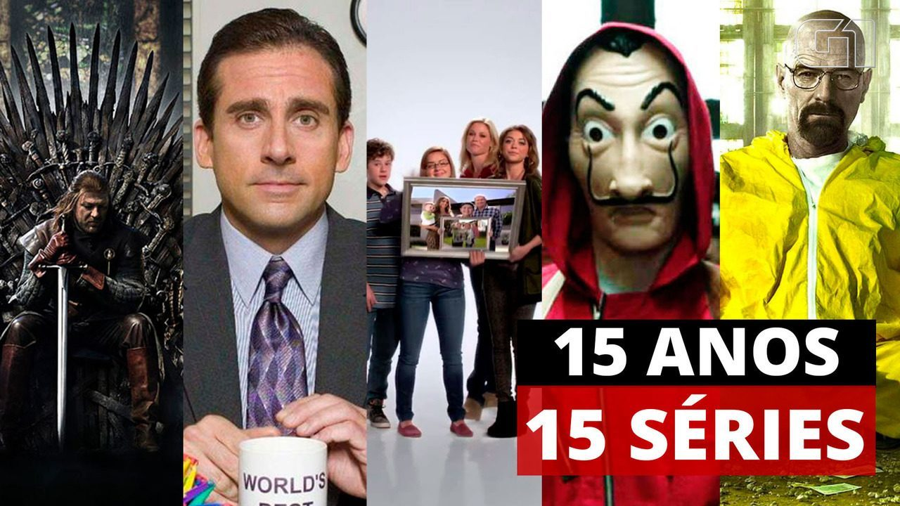 G1 15 anos: As 15 séries que mais se destacaram na TV