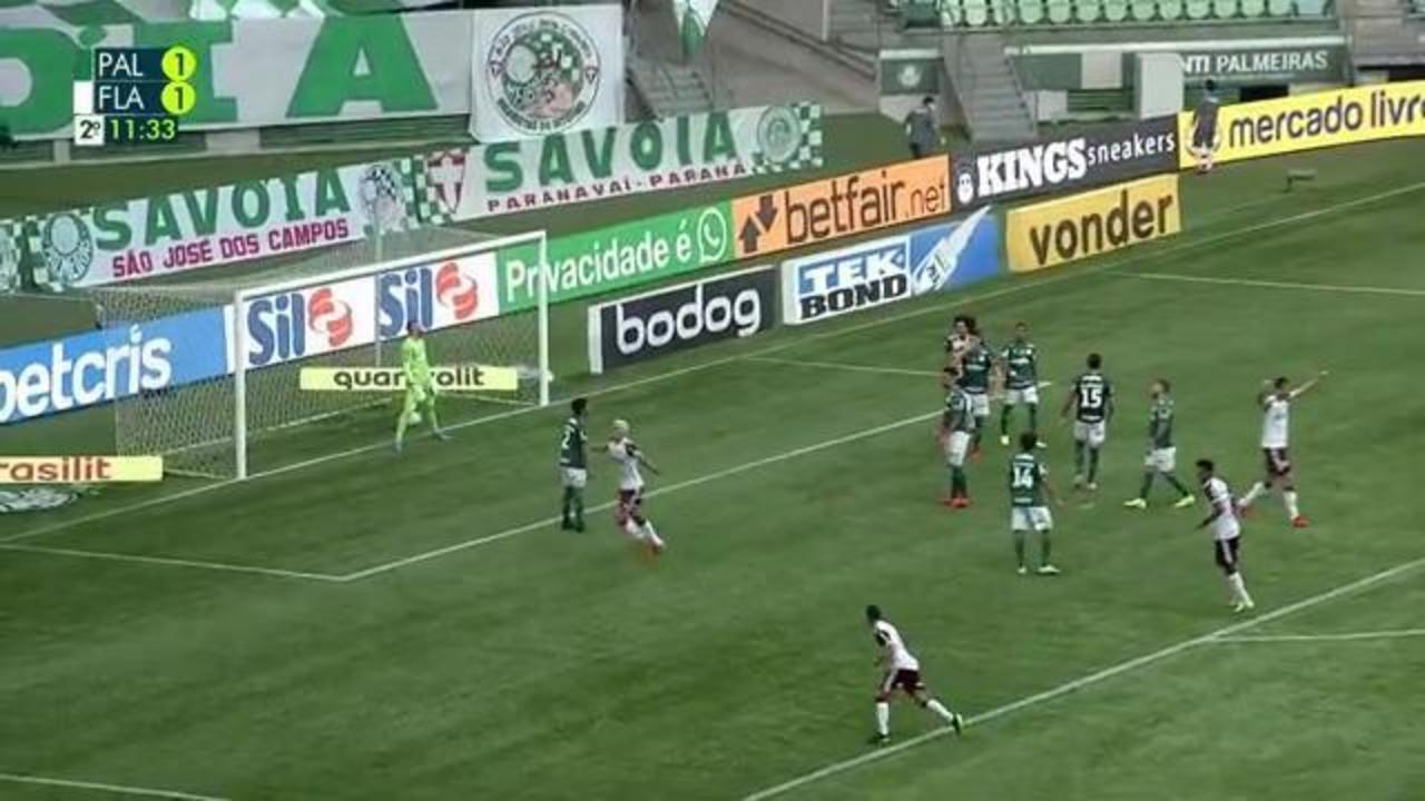 Melhores momentos de Palmeiras 1 x 3 Flamengo, pela 20ª rodada do Campeonato Brasileiro 2021