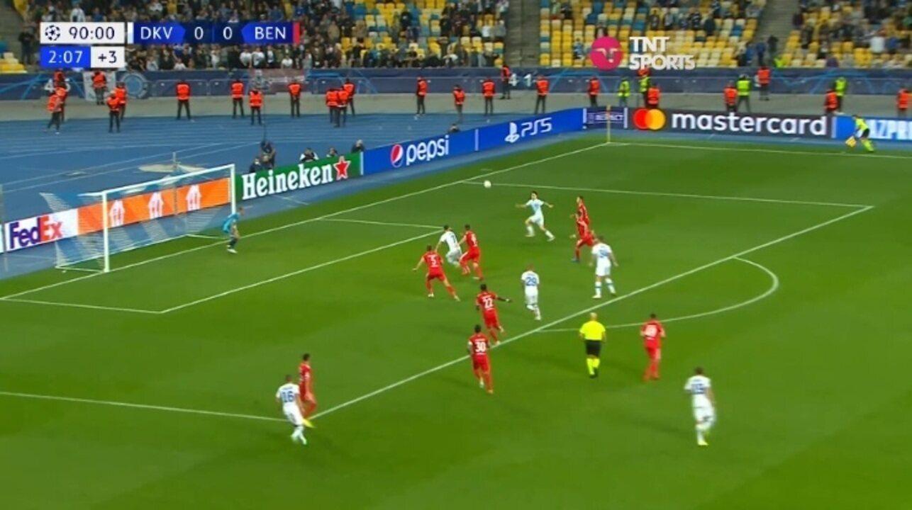 Melhores momentos: Dínamo de Kiev 0 x 0 Benfica, pela fase de grupos da Liga dos Campeões