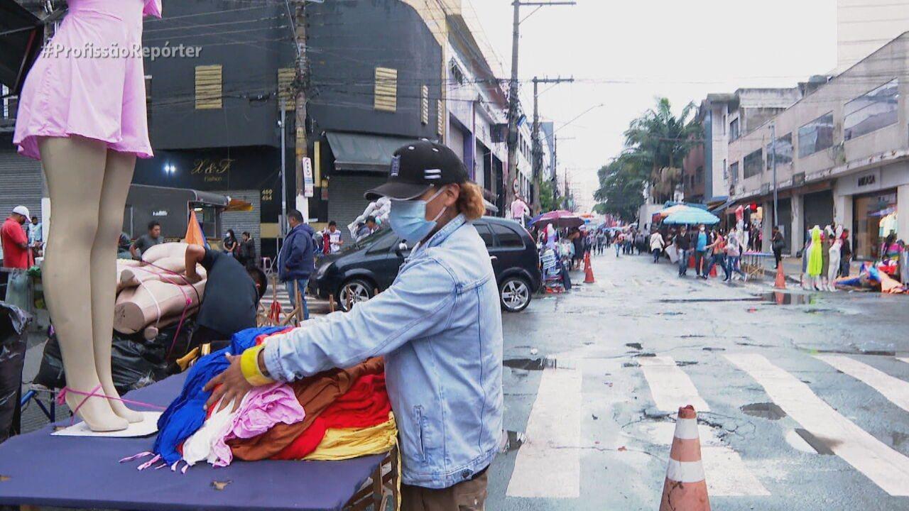 Ambulantes fazem campanha para regularizar a categoria em São Paulo
